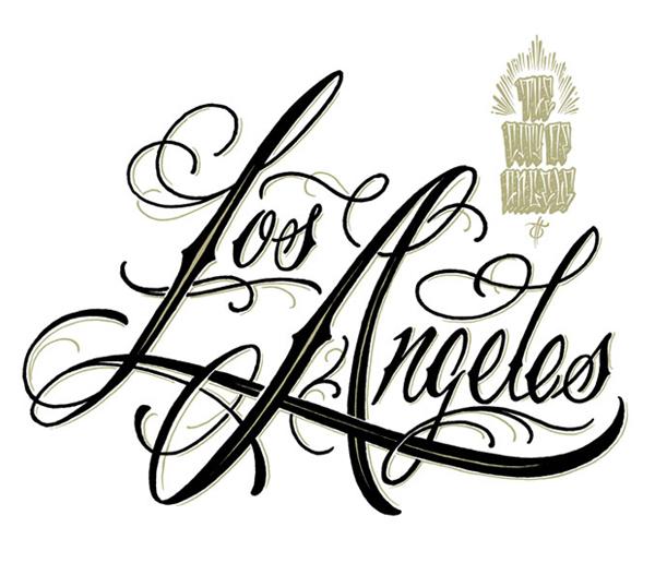 600x516 Los Angeles Script On Behance