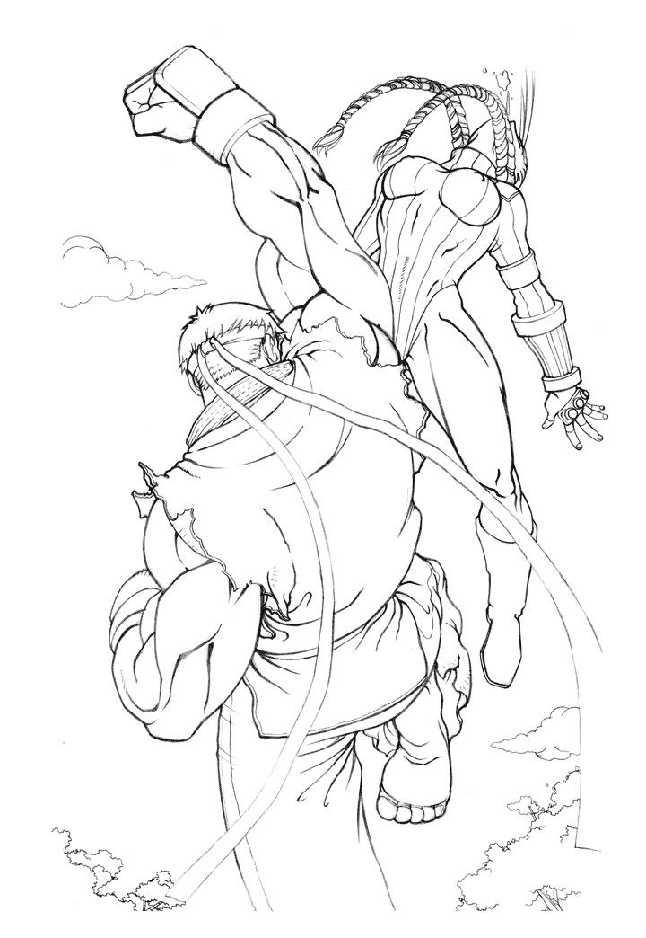 720x1044 Street Fighter S Script P3 By Knowe Draws