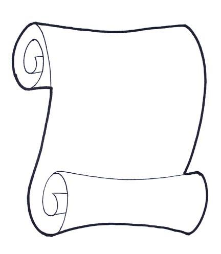 getdrawings.com/images/scroll-drawing-7.jpg