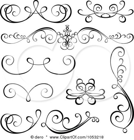 picture regarding Printable Scrolls known as Scroll Drawing Template at  Cost-free for