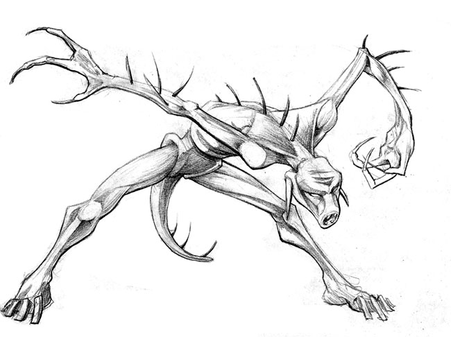 650x486 Hunger Sketch By Chrisbeaver