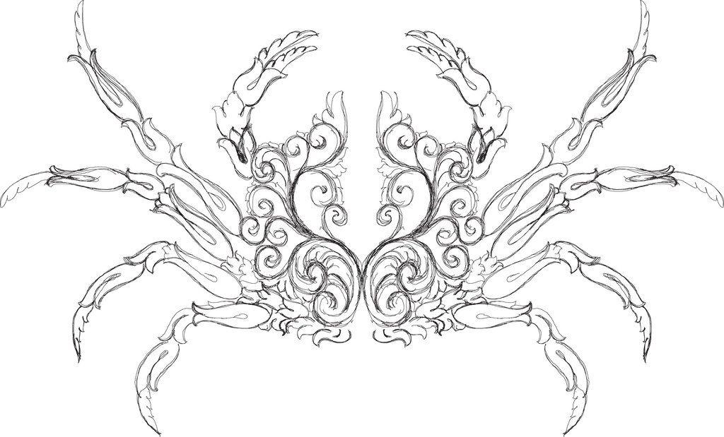 Scrollwork Drawing