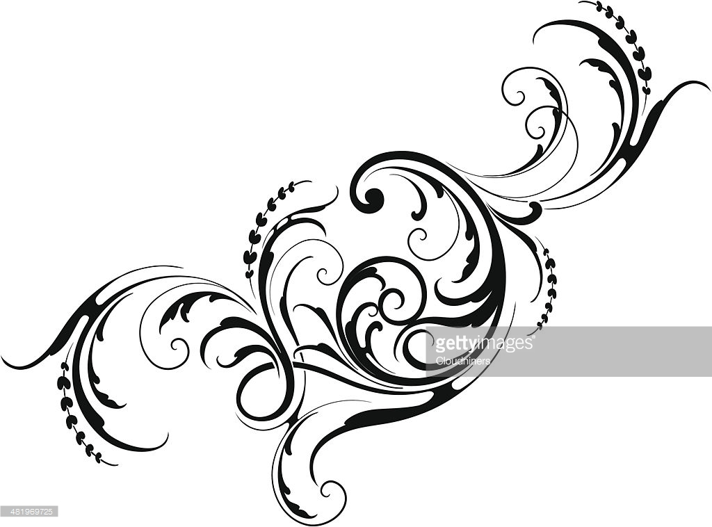 1024x758 Designed By A Hand Engraver. Intricate Scrollwork And Leaf Design
