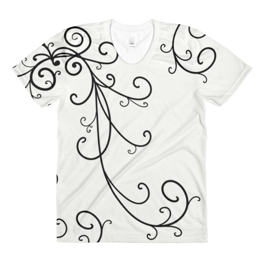 1000x1000 Swirls And Curls Scrollwork Design