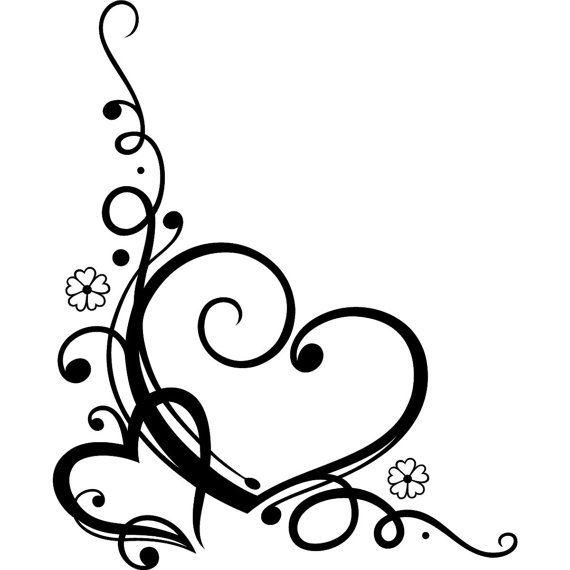 570x570 Wedding Heart Scroll Work Decal For Unity Candy By Deannebarreto