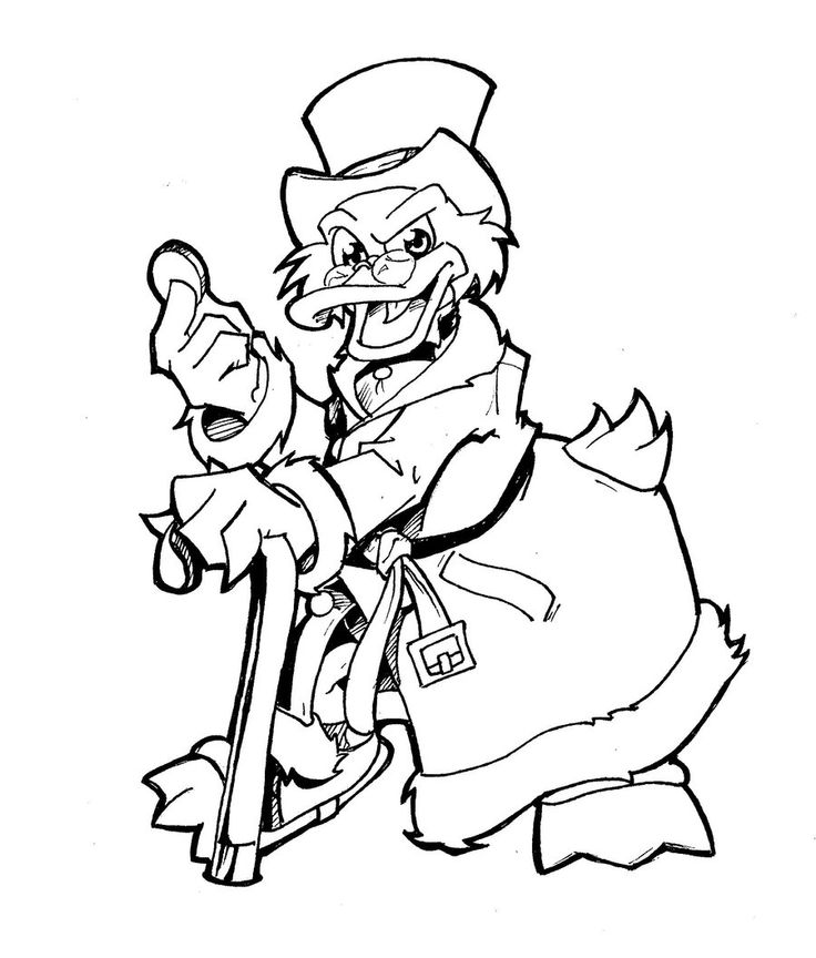 Scrooge Christmas Carol Coloring Pages Free: Scrooge Drawing At GetDrawings.com