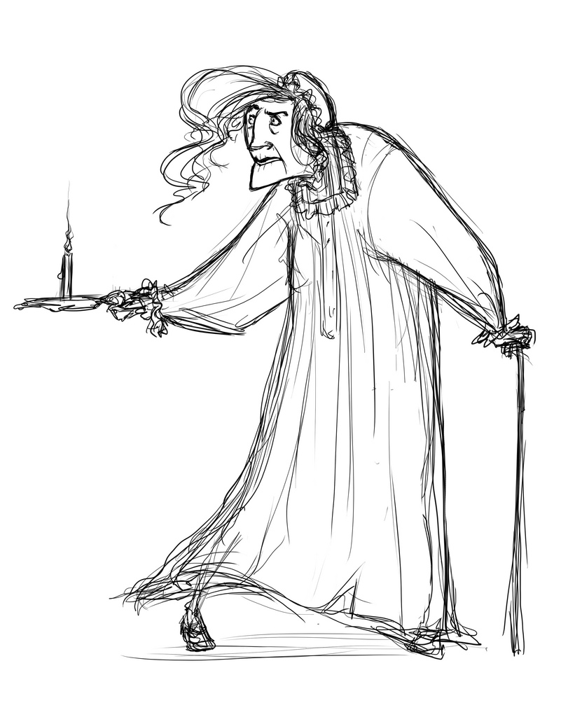 821x1024 Scrooge Nightgown Elora Lyda