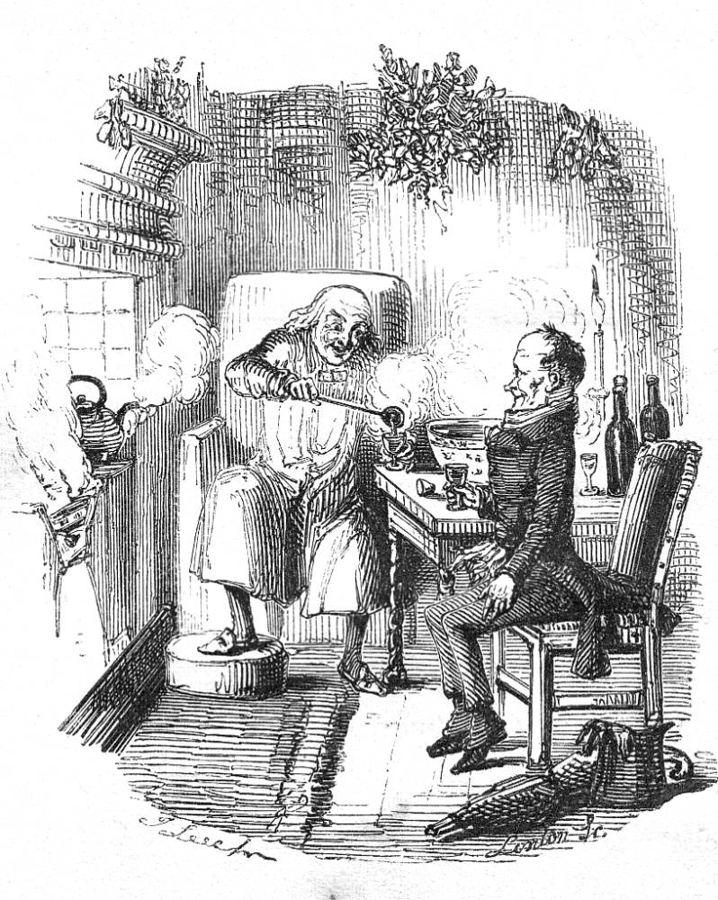 798x1000 A Gallery Of John Leech's Illustrations For Dickens's A Christmas