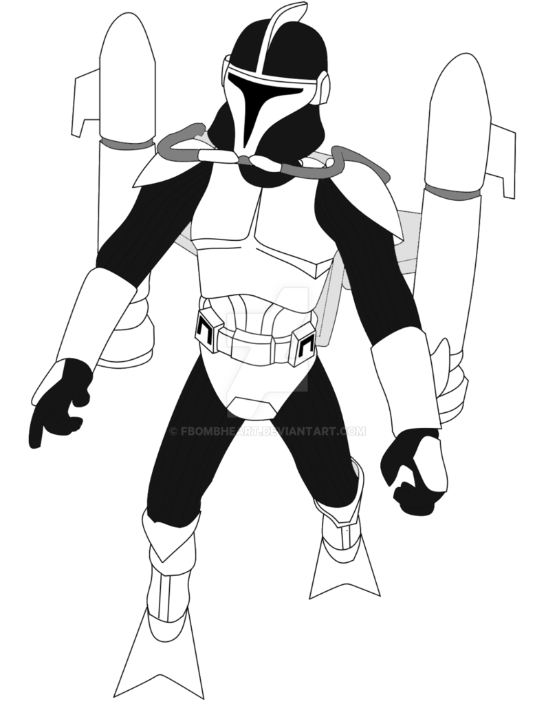 778x1026 Clone Scuba Trooper By Fbombheart