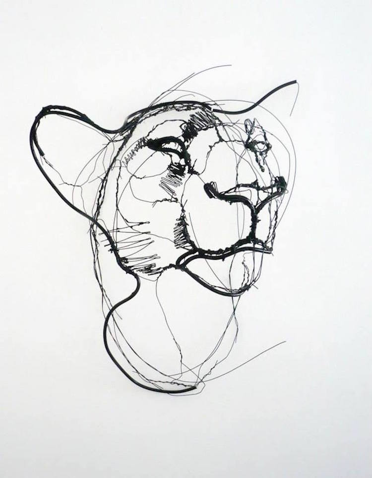 750x964 Wire Sculpture Inspired By Calder Puts Contemporary Spin On Wire Art