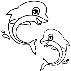 230x230 Top 15 Free Printable Sea Animals Coloring Pages Online