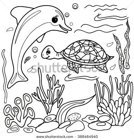Sea Animals Drawing At Getdrawings Com