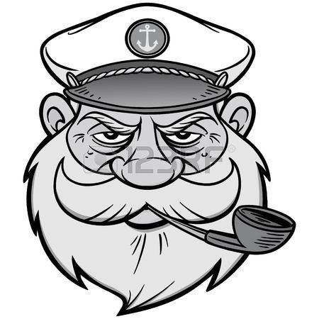 Sea Captain Drawing