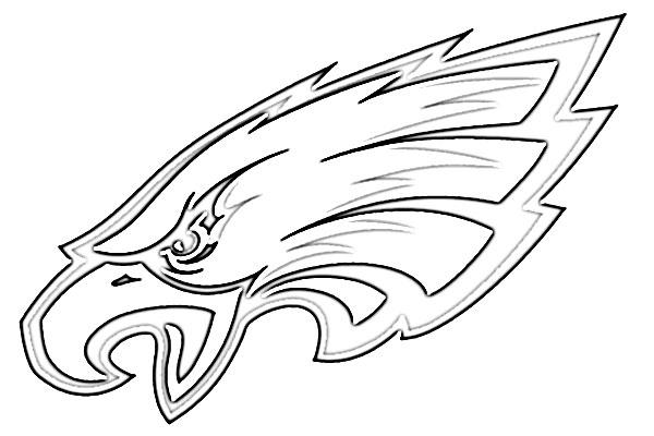600x400 Philadelphia Eagles Logo Sketch