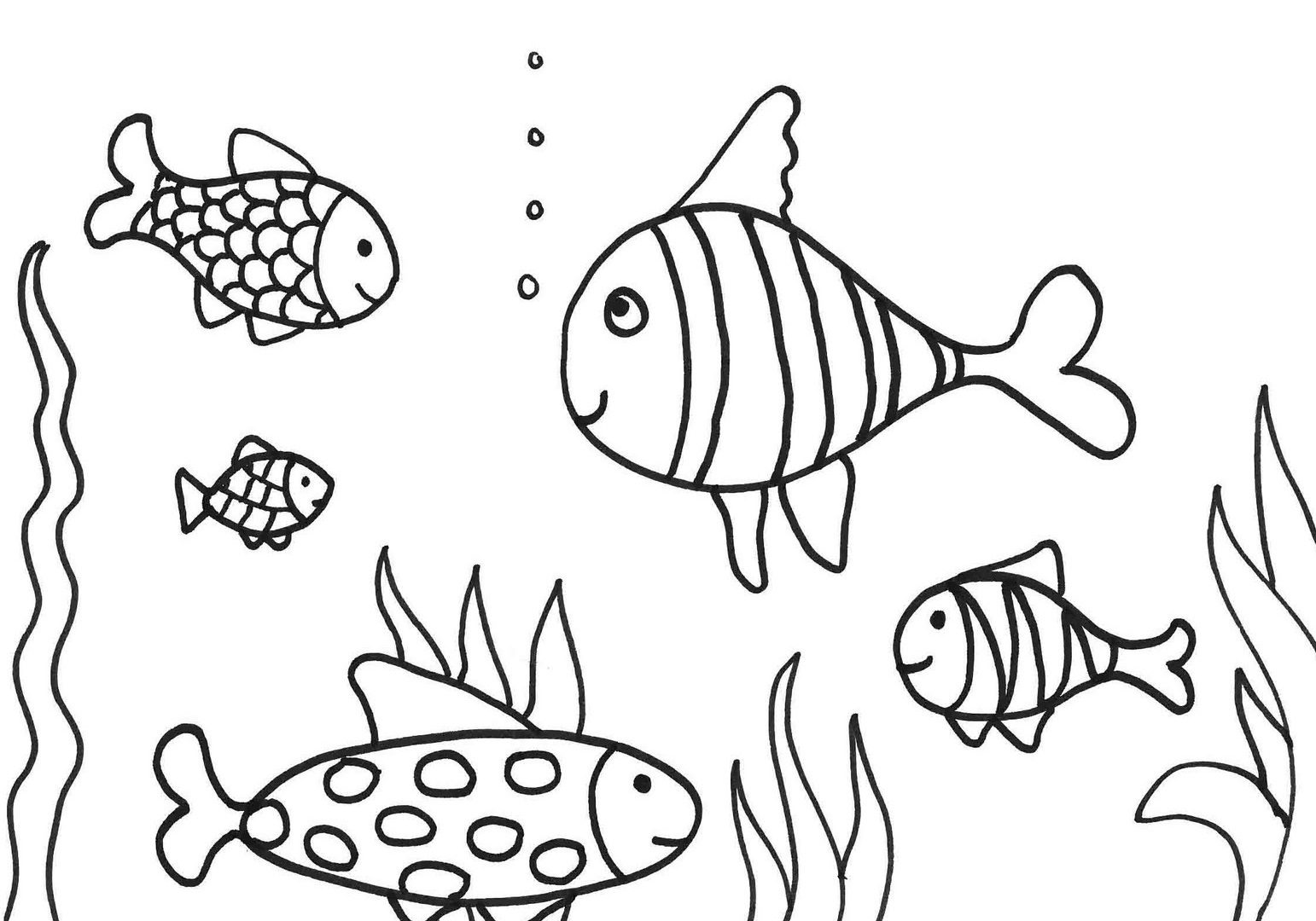 1542x1080 Best Fish Images On Coloring And Drawing Goldfish Pages
