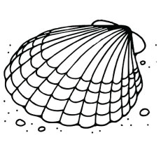 230x230 Top 25 Free Printable Shell Coloring Pages Online