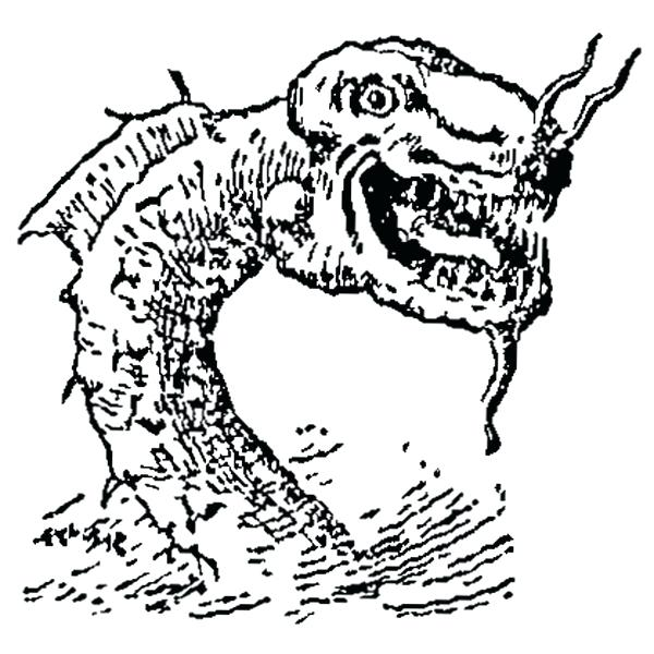 monster snake coloring pages - photo#24