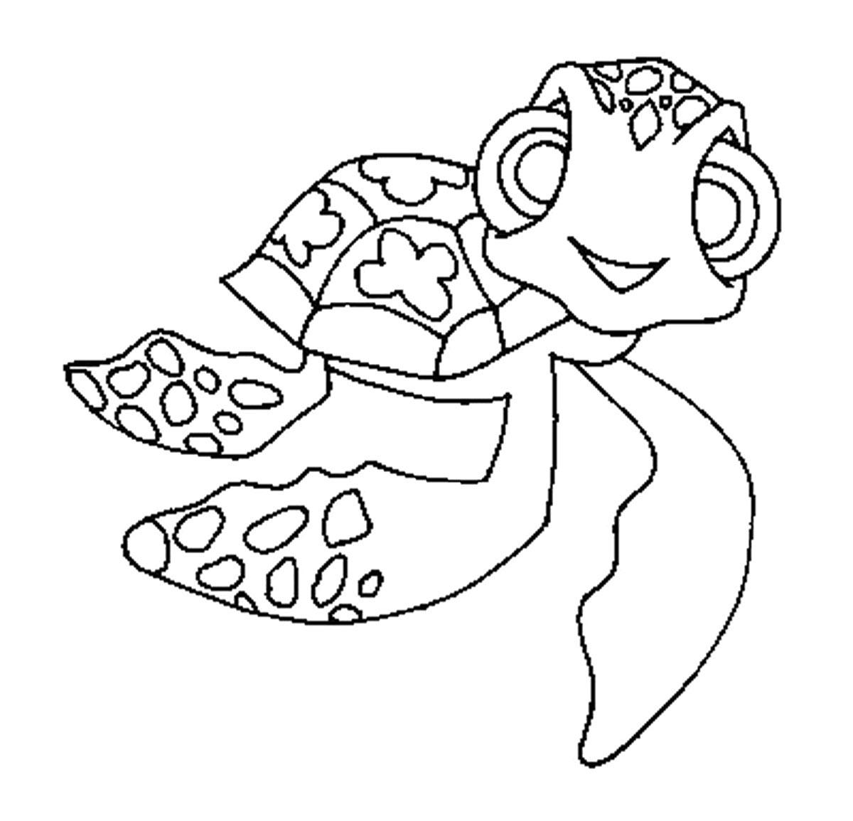 Sea Turtle Cartoon Drawing at GetDrawings   Free download
