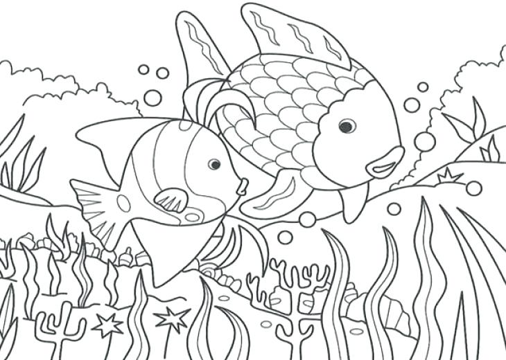 730x520 Sea Coloring Pages Under The Sea Coloring Pages For Kids Sea World