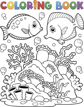 289x368 Vector Sea World Drawing Free Vector Download (91,808 Free Vector