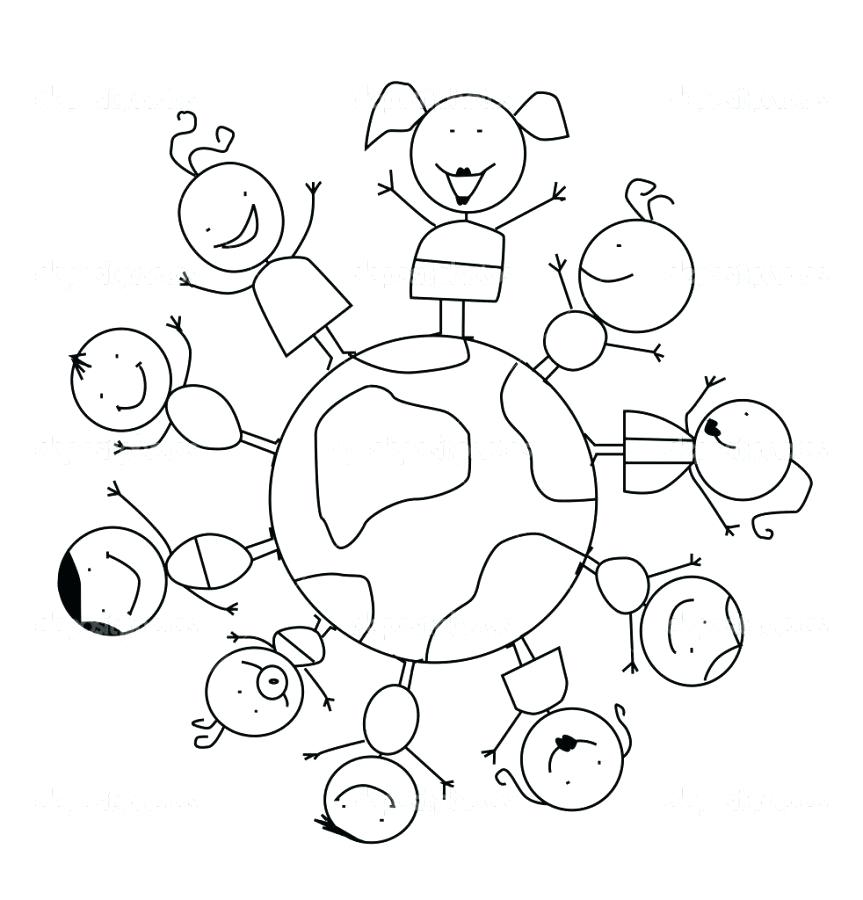 863x900 World Coloring Pages Super World Coloring Page Sea World Coloring