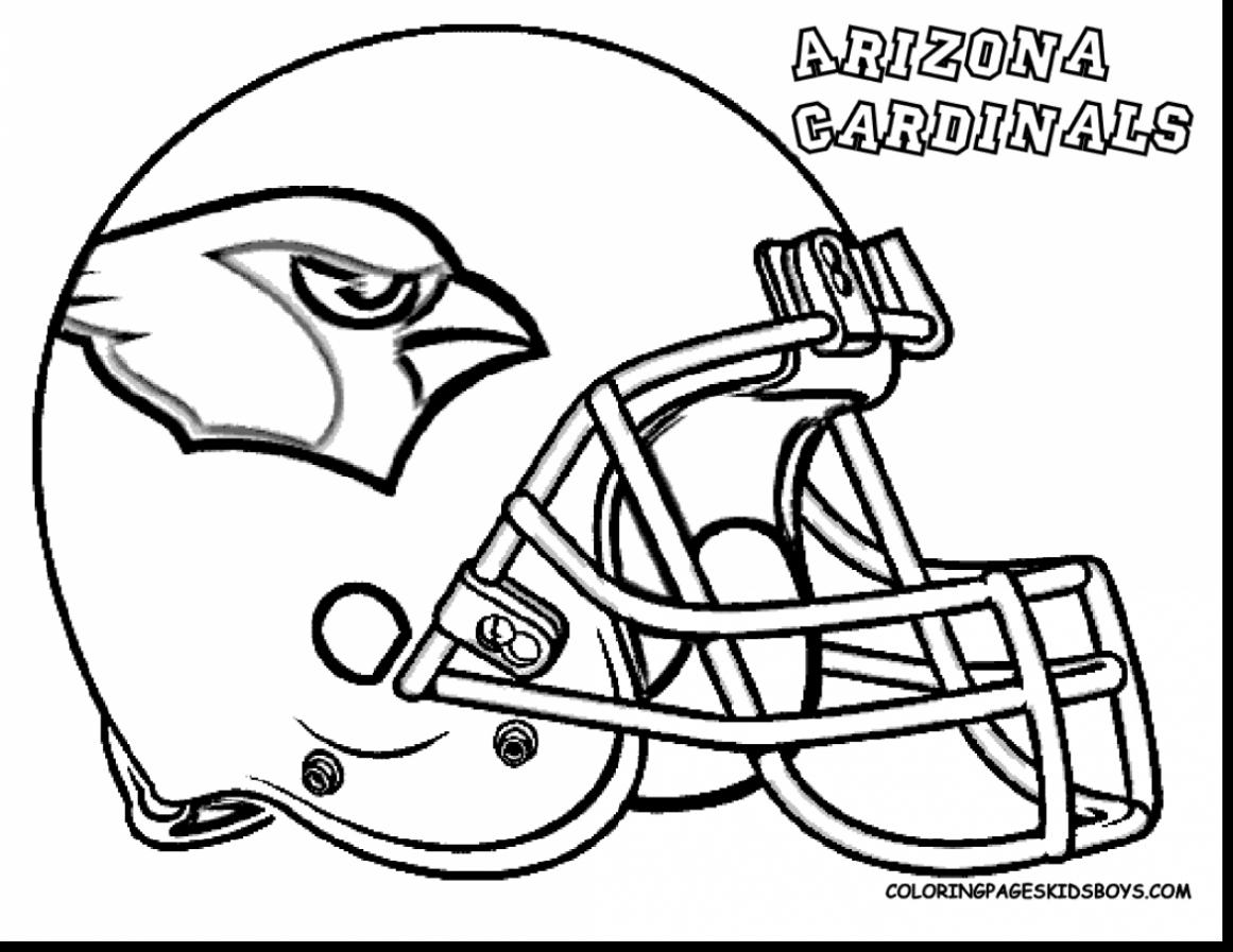 Seahawk Symbol Coloring Page - Worksheet & Coloring Pages