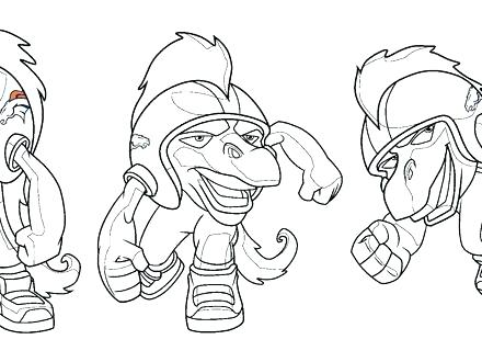 440x330 Stunning Seattle Seahawks Coloring Pages Print Page 5 Logos