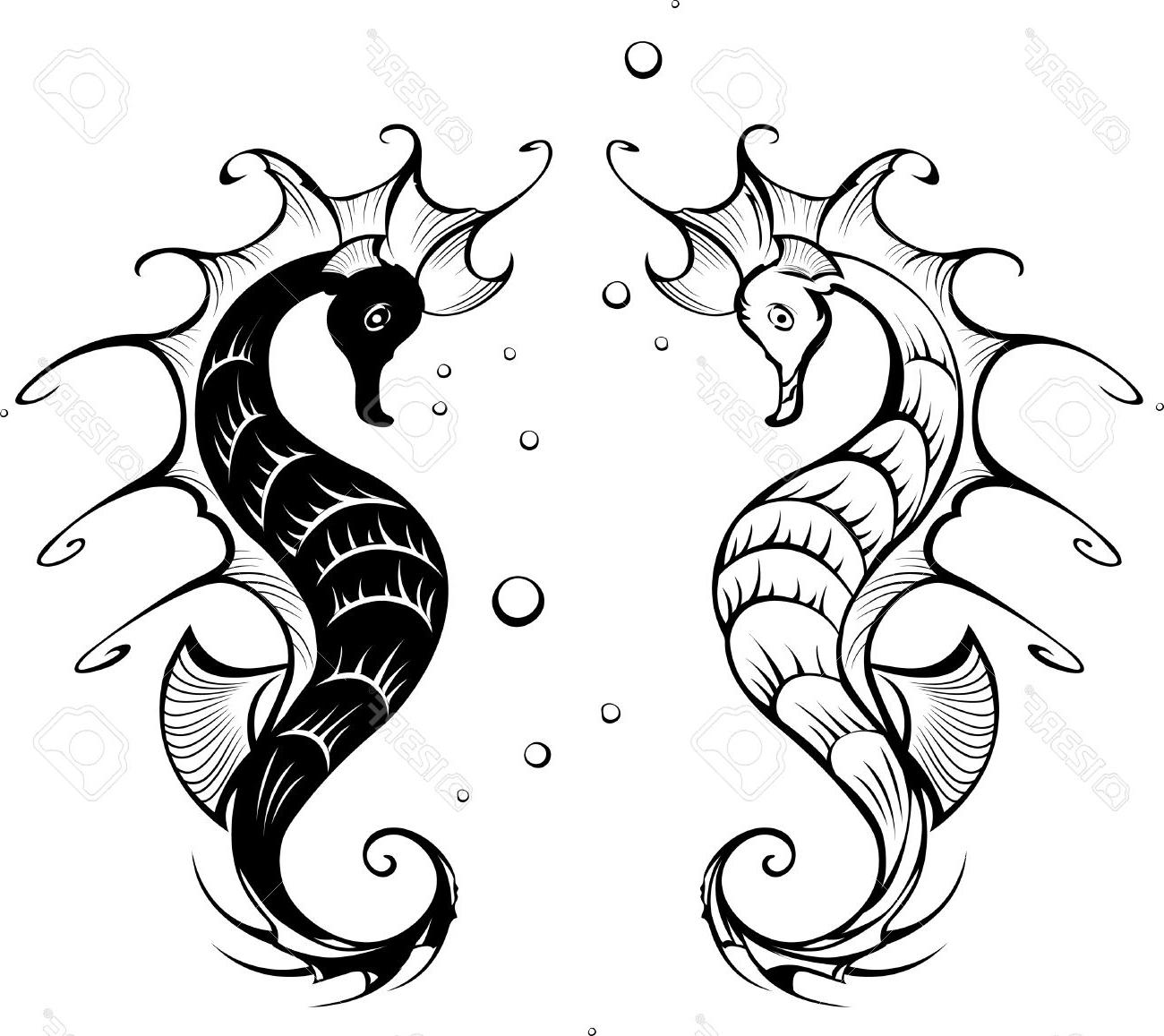 Seahorse Cartoon Drawing at GetDrawings | Free download