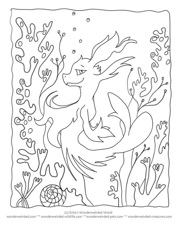 Seahorse Outline Drawing at GetDrawings.com | Free for personal use ...
