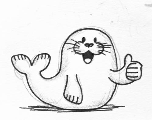 500x394 Pun Seal Of Approval Tumblr