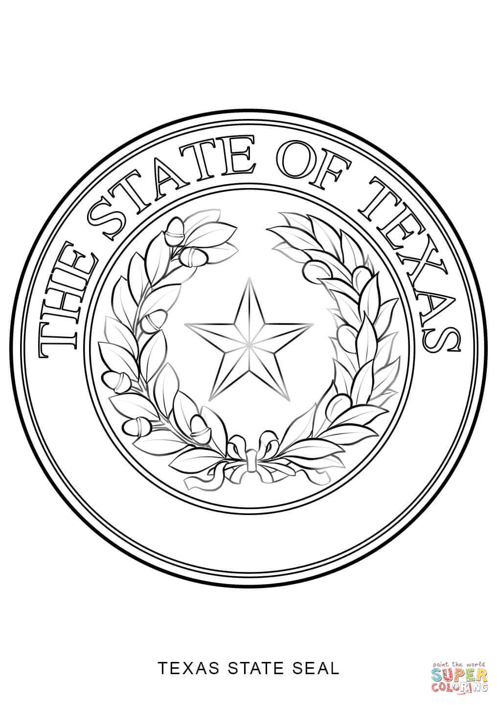 1020x1440 Seals Of Texas The Handbook Of Texas Online Texas State