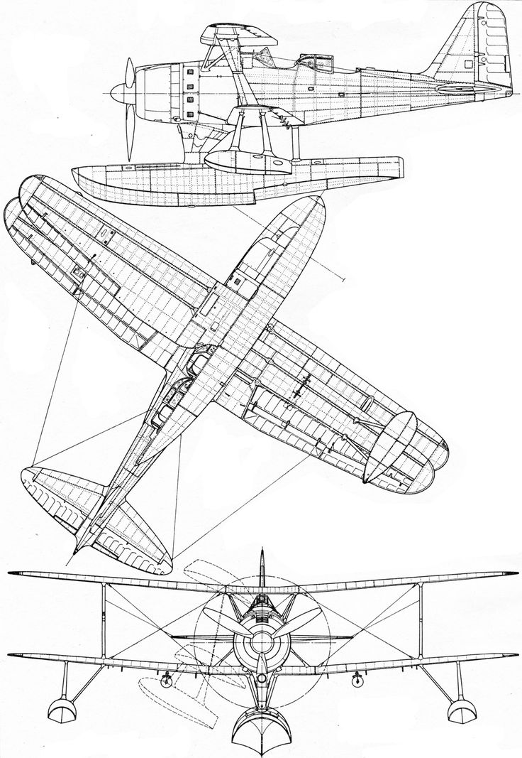 Seaplane Drawing