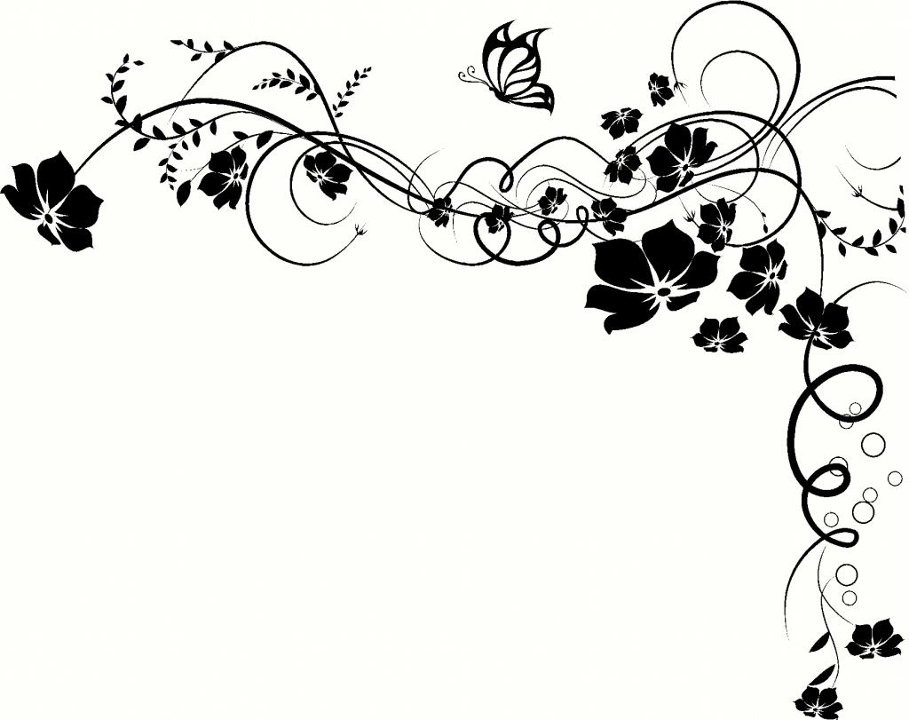 1024x811 Drawings Flowers And Vines Flower Vine Drawing Drawings