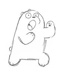 236x291 We Bare Bears Drawing Sketch