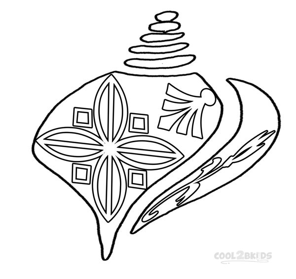 600x567 Printable Seashell Coloring Pages For Kids Cool2bkids