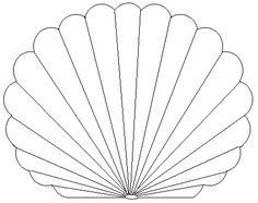 236x186 Seashell Drawing Lovely Zigzag Scallop Seashell Drawing Coloring