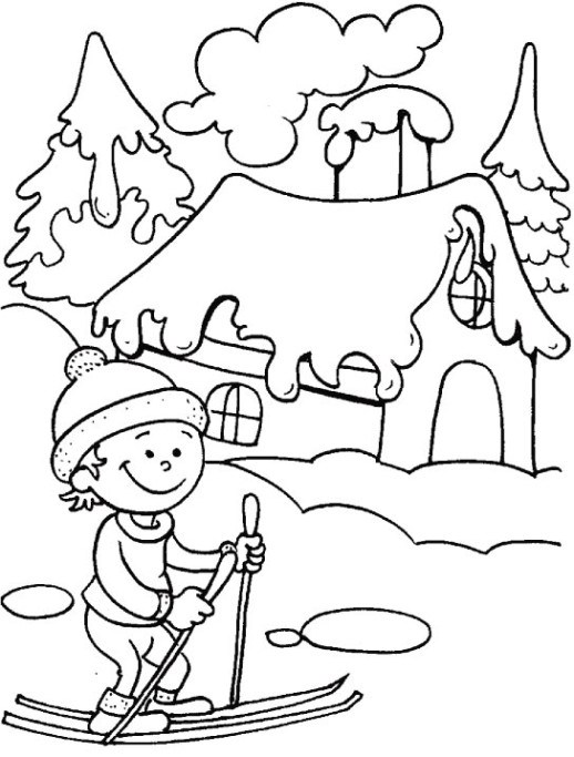 518x683 Winter Season Pictures For Drawing Matatarantula