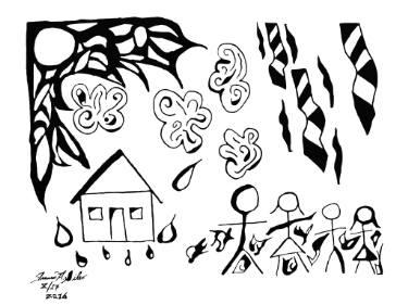 375x281 Buy Original Ink Seasons Drawings Online Saatchi Art