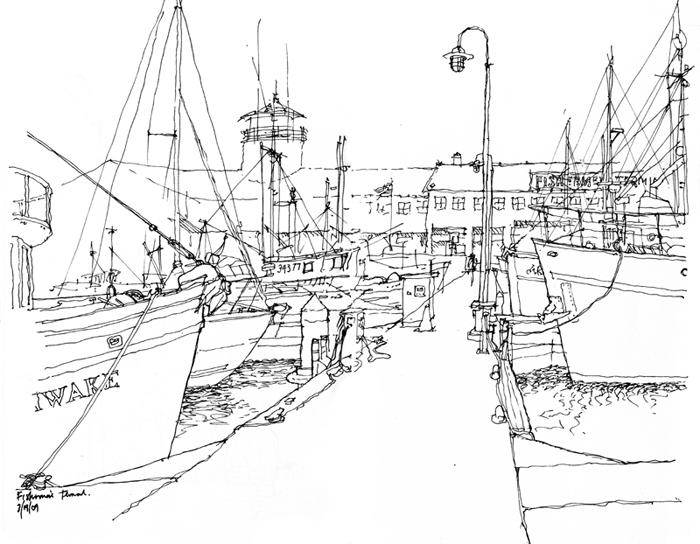 700x544 Urban Sketchers Seattle It's Been Seven Years