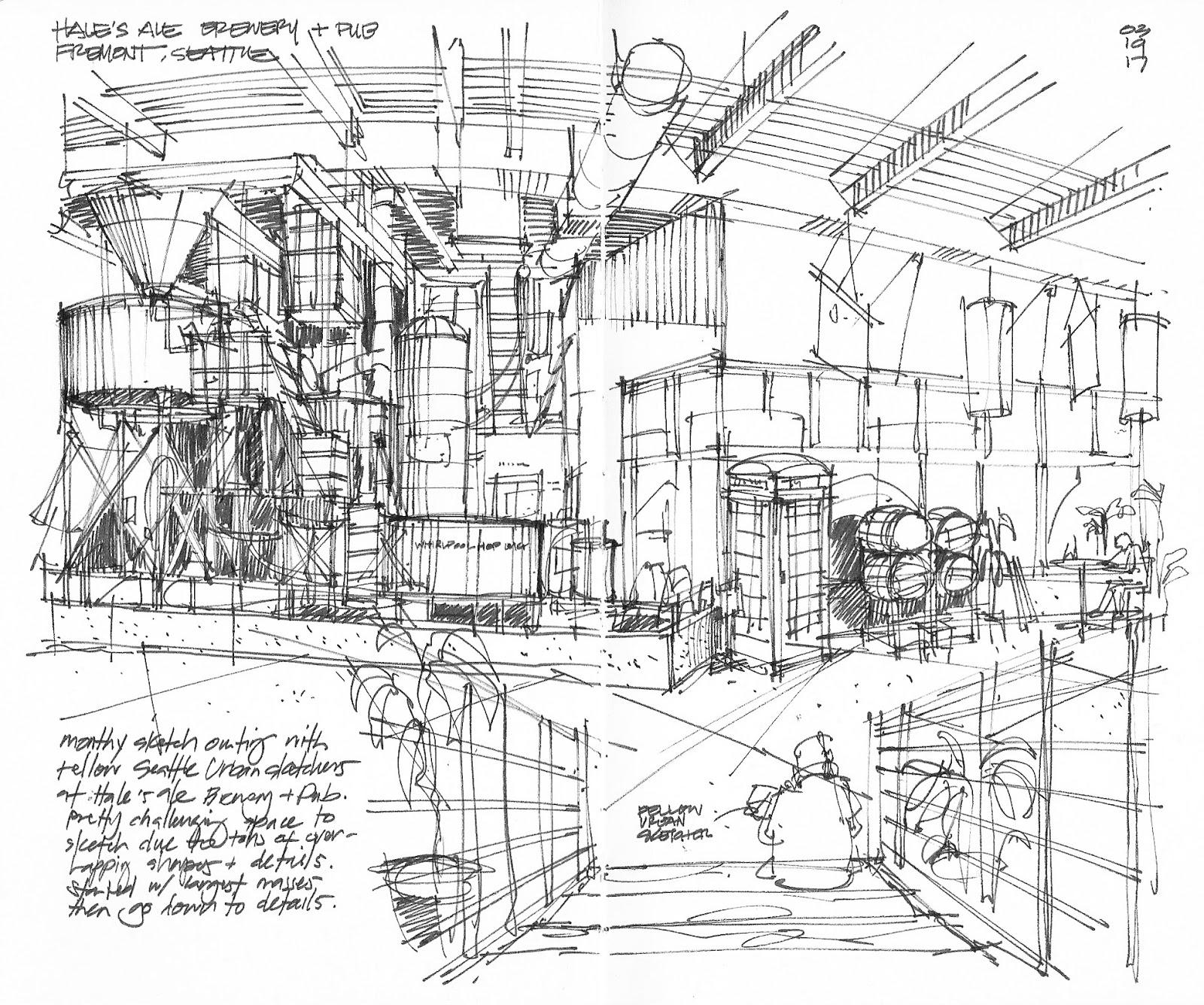 1600x1336 Urban Sketchers Seattle Sketchcrawl