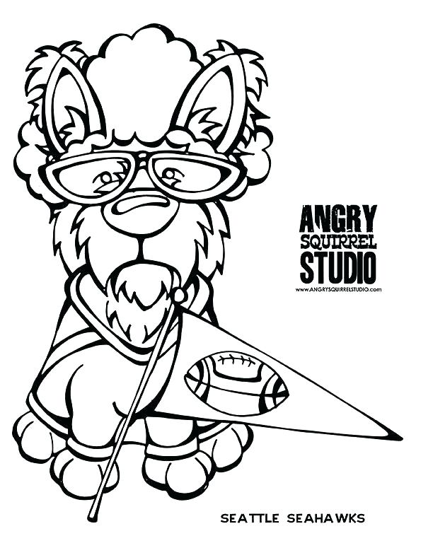 612x792 Seattle Seahawks Logo Coloring Pages Coloring Pages Logos Seattle