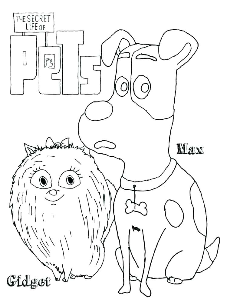 Secret Life Of Pets Drawing at GetDrawings | Free download