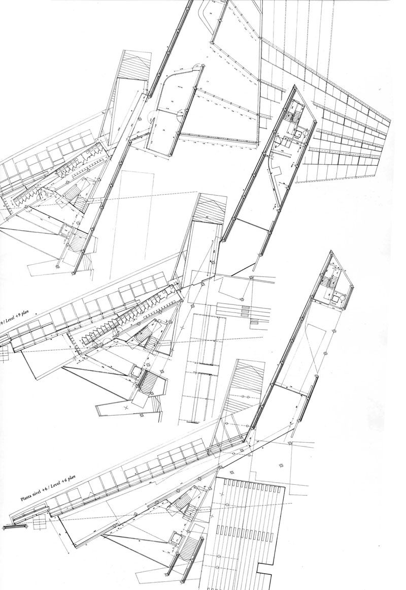 800x1161 Plan As Map The Funambulist On Miralles Architecture, Draw