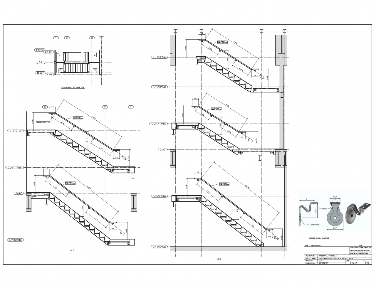 1280x981 Staircase Plan And Section Drawing Staircase Gallery
