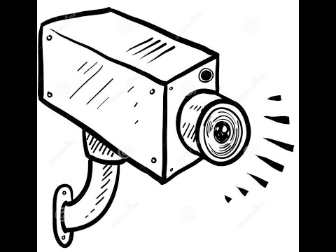 Security Camera Drawing