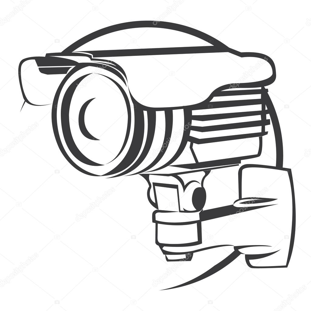 Security Camera Drawing At Getdrawings Com Free For