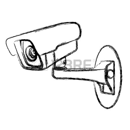 Security Camera Drawing At Getdrawings Com Free For Personal Use