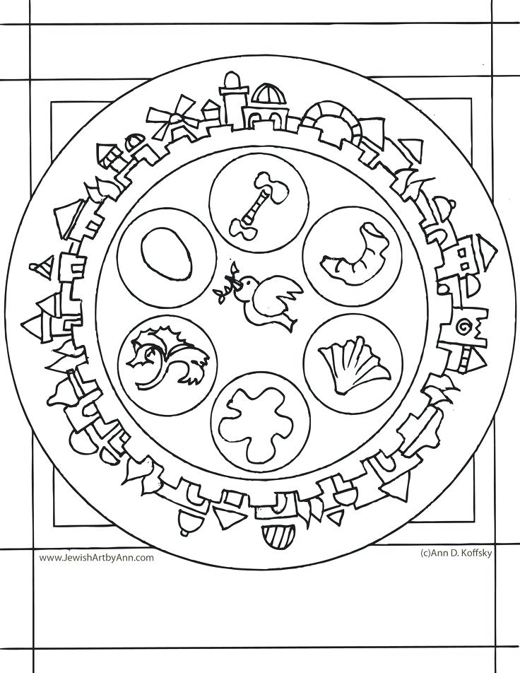 736x952 Passover Coloring Page Coloring Page By Passover Coloring Pages