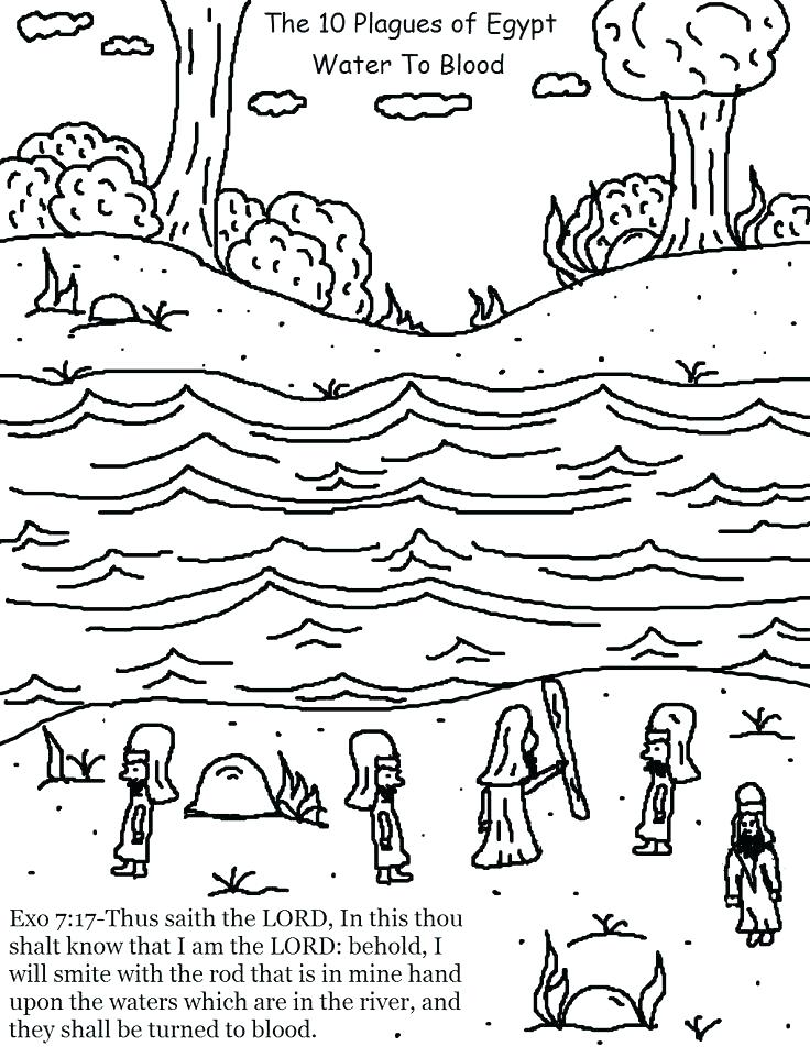 736x952 Passover Coloring Pages 92 Together With Frogs Passover Coloring