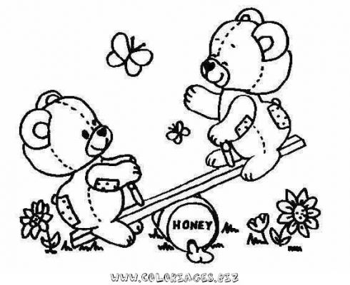 490x400 Coloring Pages For Kids To Print